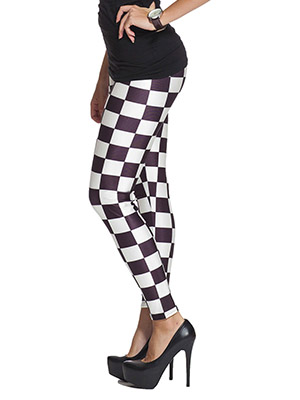 Grafiska leggings