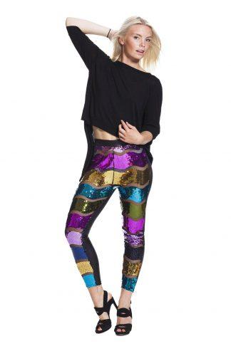 Glittriga leggings för fest - fri frakt online !
