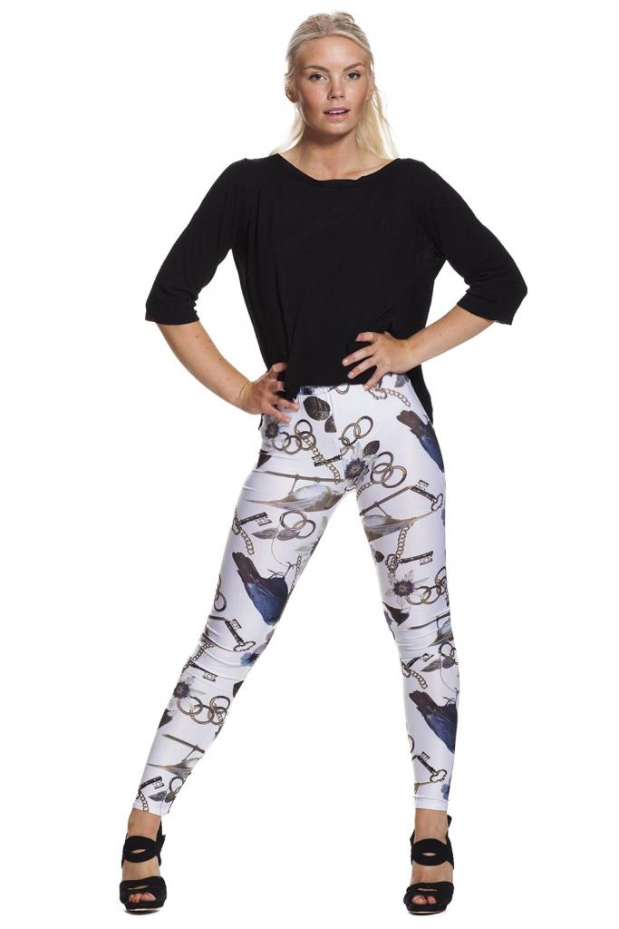 Läckra leggings online fraktfritt !