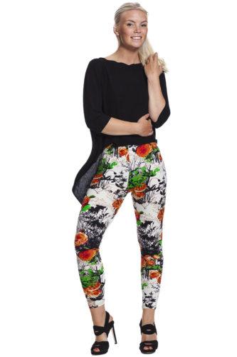 Blommiga leggings online !