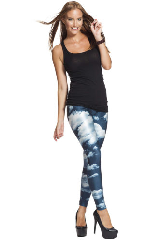Galaxy leggings billigt online med fri frakt !
