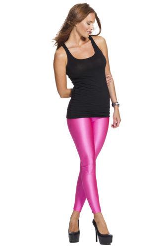 Rosa snygga leggings online med fri frakt