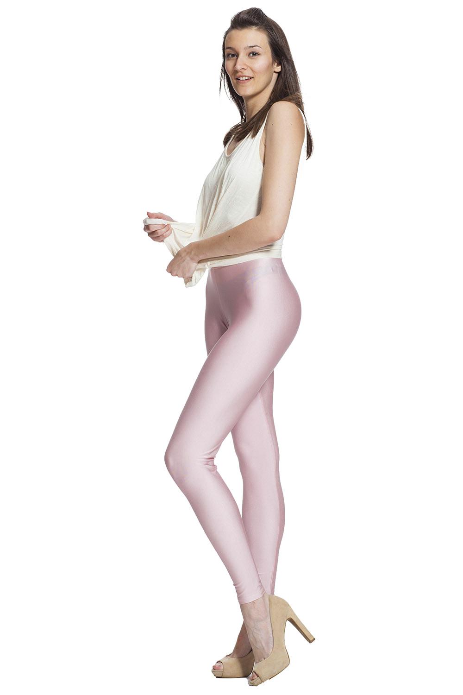 Ljusrosa leggings online