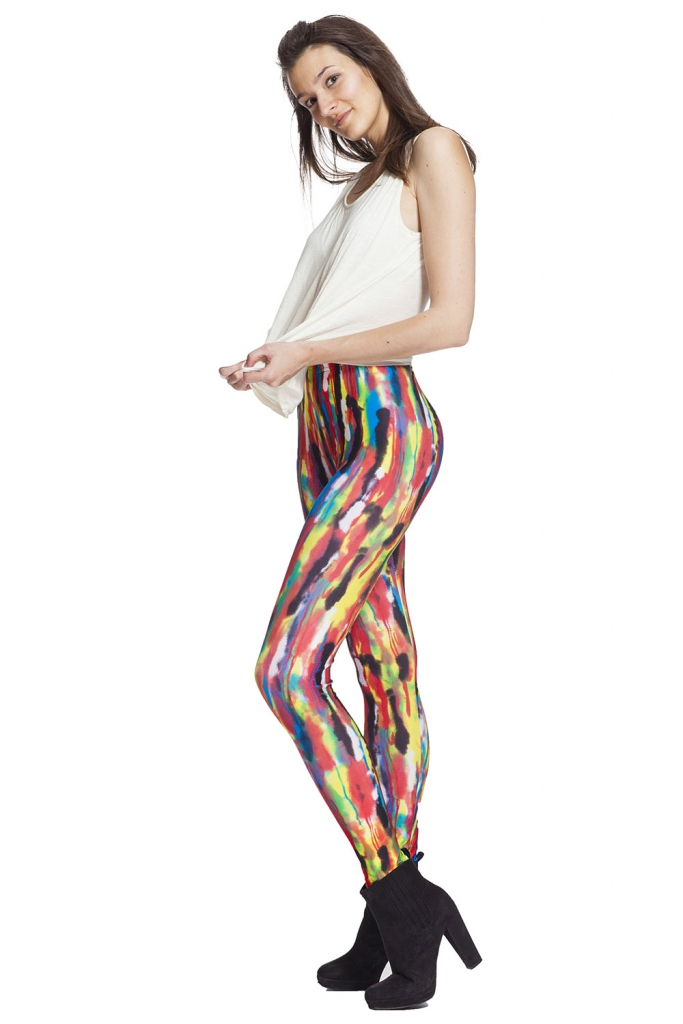 Graffiti leggings och tights online !