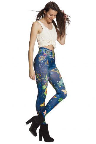 Jeansleggings och jeggings online - alltid fri frakt !