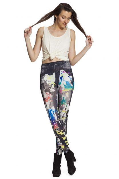 Jeggings / jeansleggings - fraktfritt online !