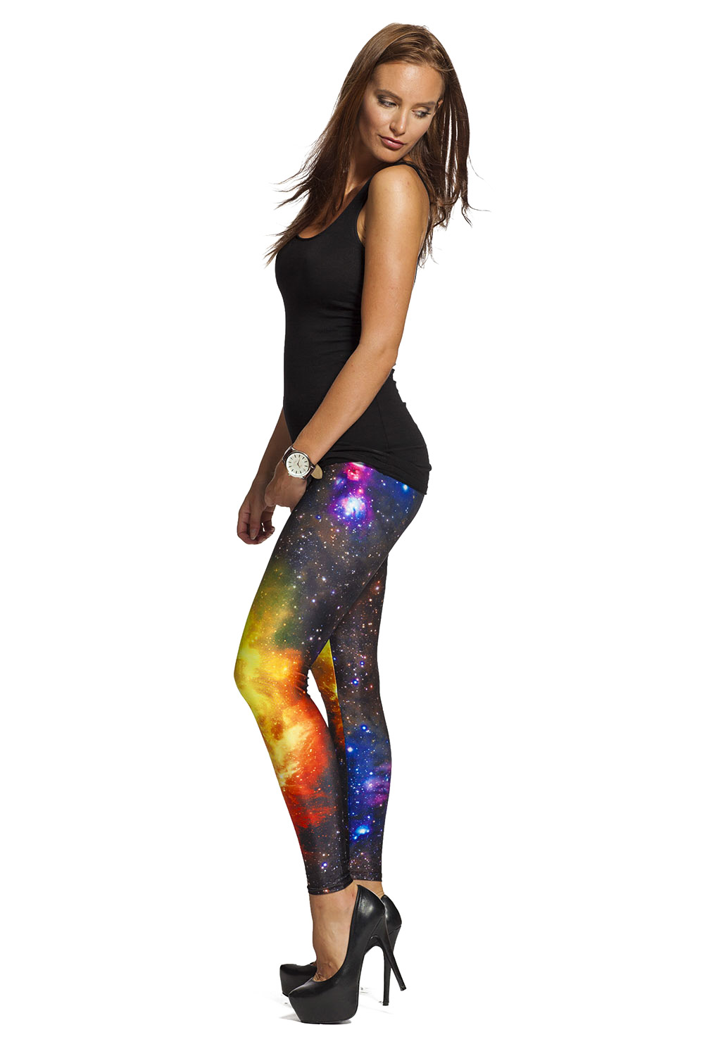 Galaxy leggings - fri frakt online !