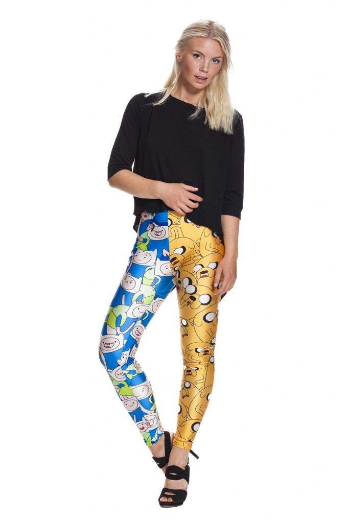 Sköna leggings och tights med tecknade figurer - fraktfritt online !