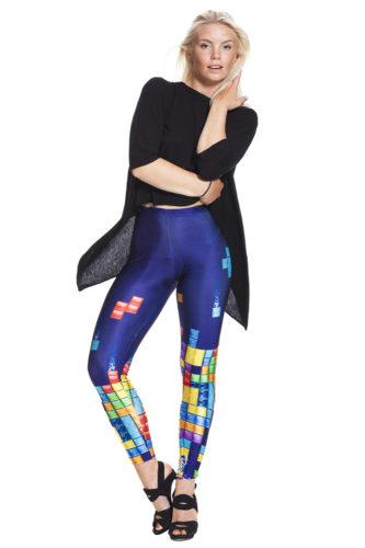 Tetris leggings - fraktfritt online !