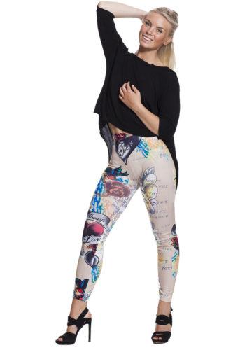 Tuffa leggings online med fri frakt !