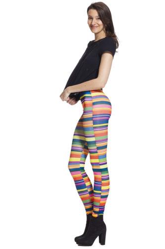 Randiga färgglada leggings och tights online med fri frakt och bra pris !