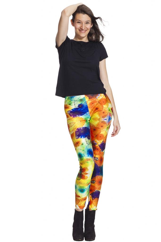 Snygga leggings i varma toner - bra priser online och fri frakt !