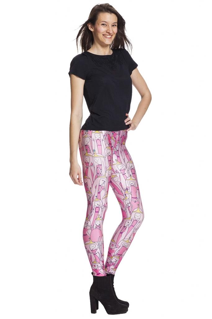 Snygga rosa leggings till bra pris och fri frakt online !