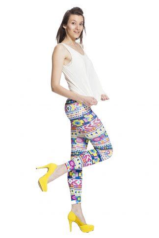 Leggings med vackra mönster online