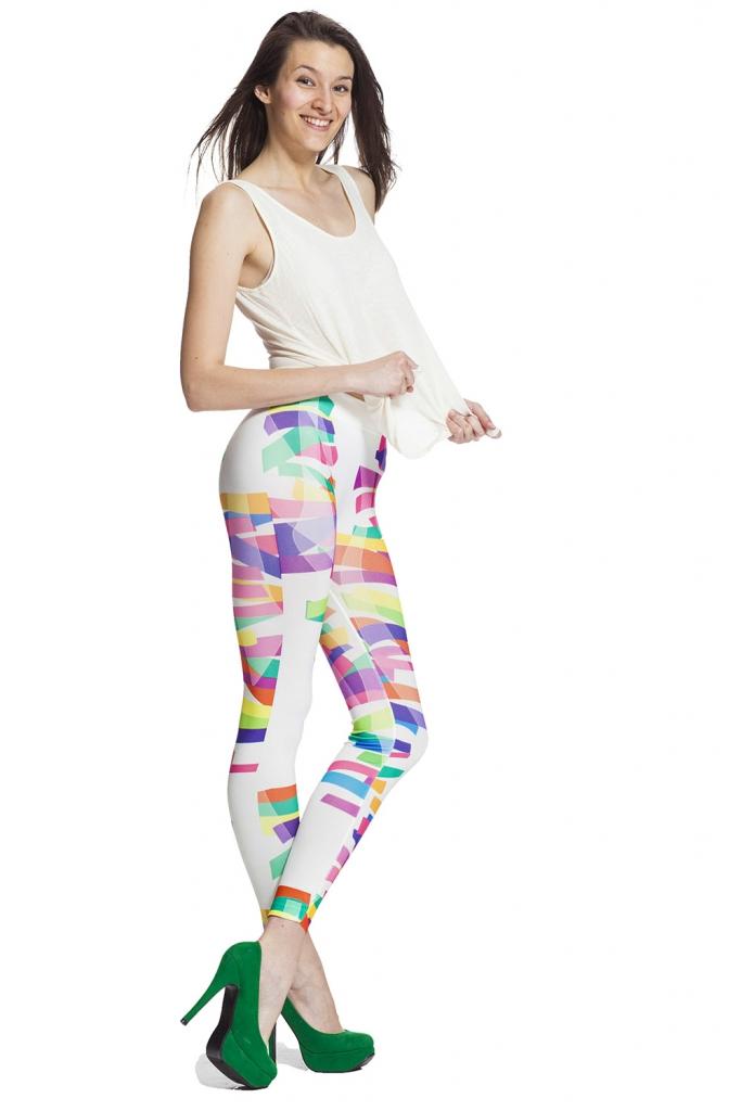 Leggings med färg och fri frakt online i vår webshop !