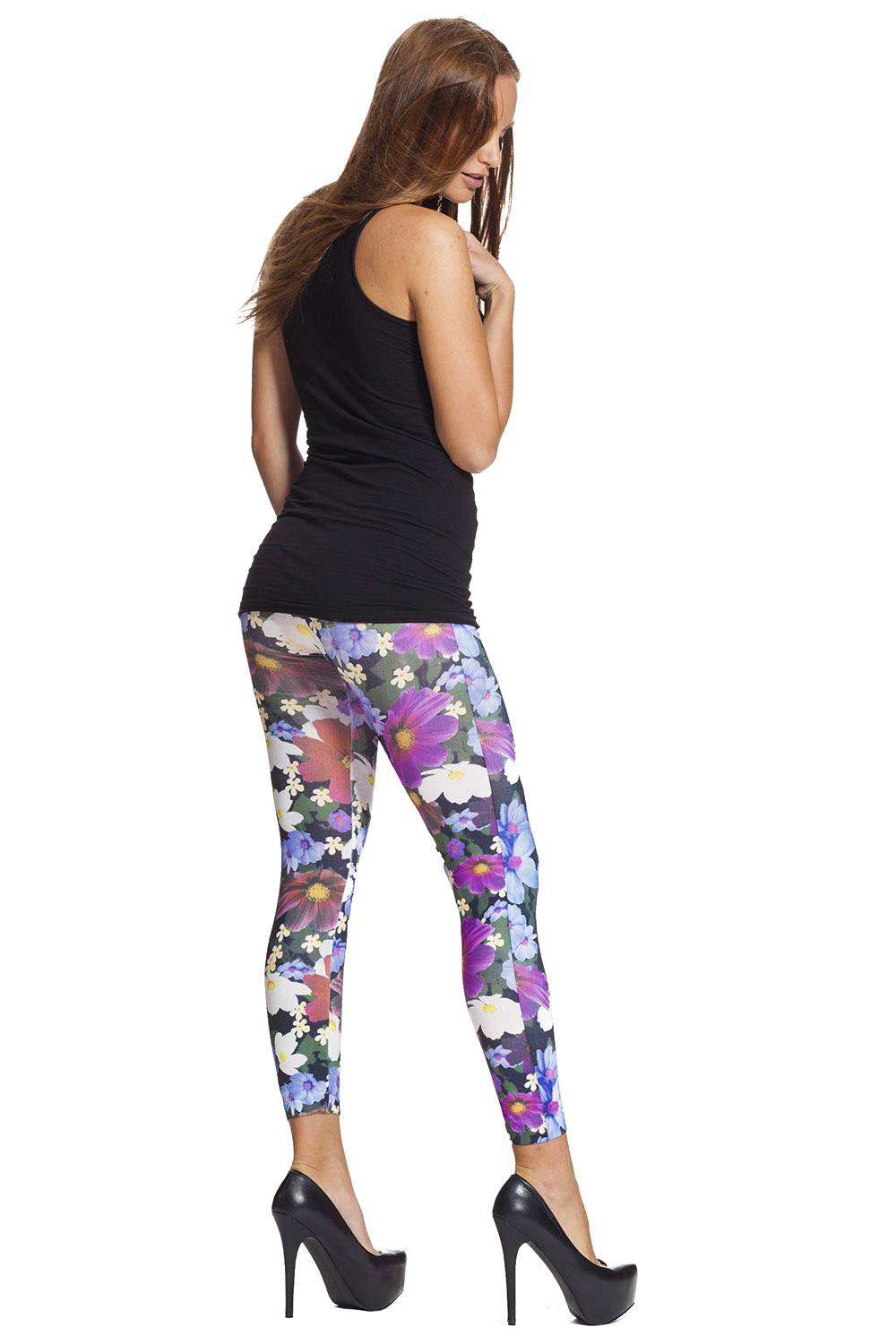 Hue Ladies' 2-pack Legging Wide Waistband Ultra Soft Cotton.