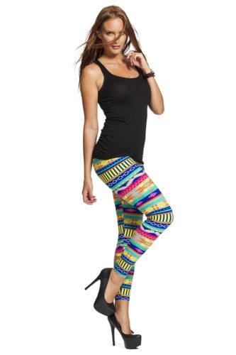 Grafiska leggings online fraktfritt fri frakt i vår webshop