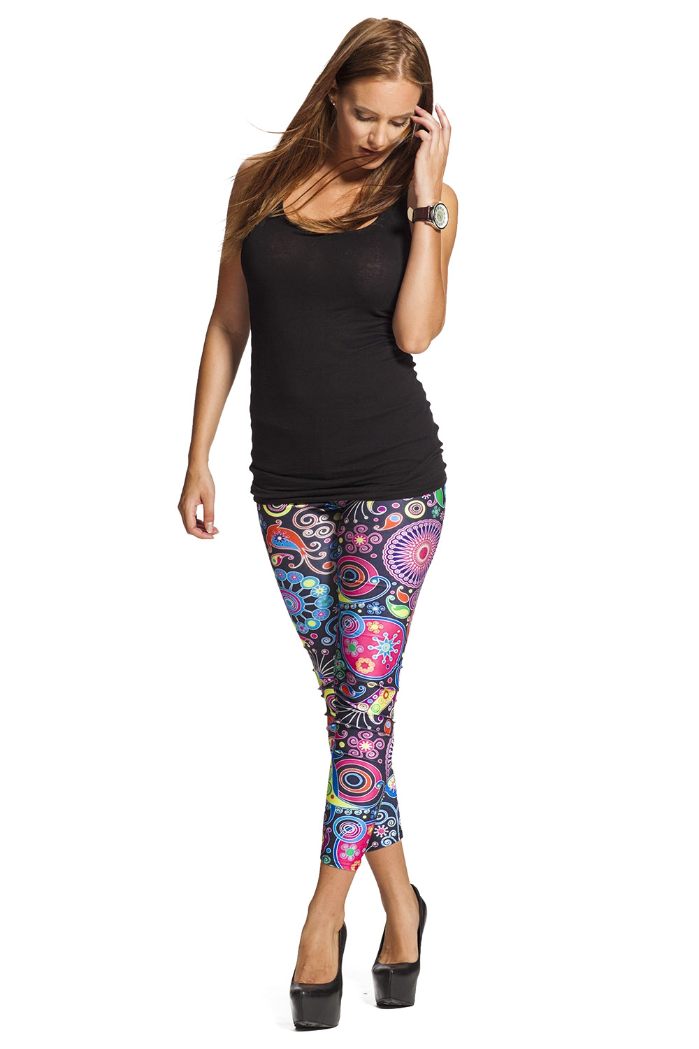 Flower Power Tights