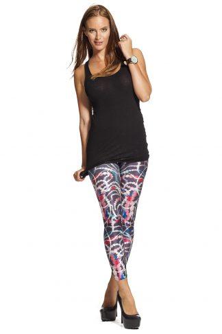 Snygga leggings med pärlband i olika färger