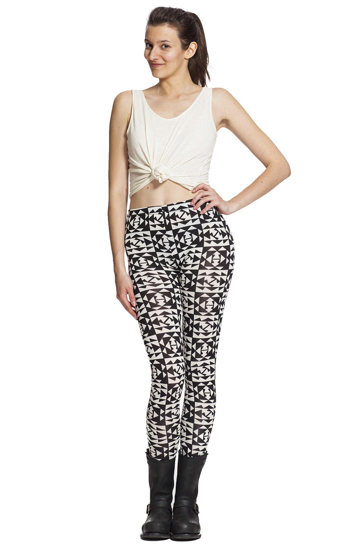 Grafiska leggings och tights online !