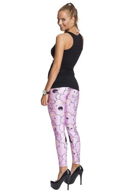 rosa roliga leggings med fri frakt online !