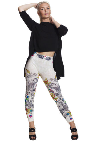 leggings med fri frakt online !