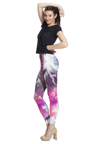 Galaxy leggings online med fri frakt