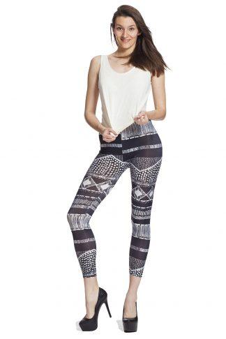 Snygga grafiska leggings online