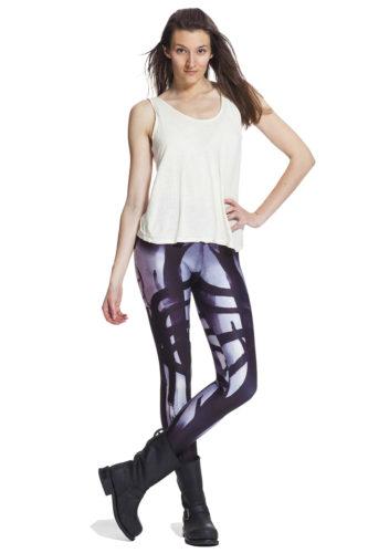 Läskiga leggings och jeansleggings med fri frakt online fraktfritt !