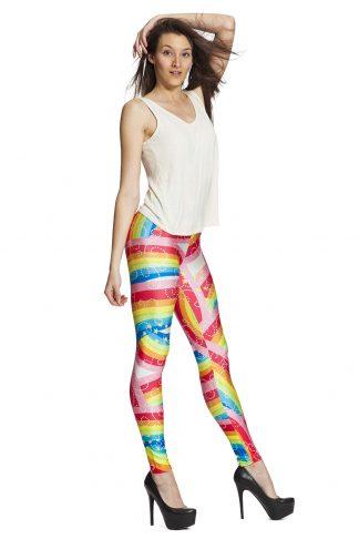 Färgglada leggings online fraktfritt