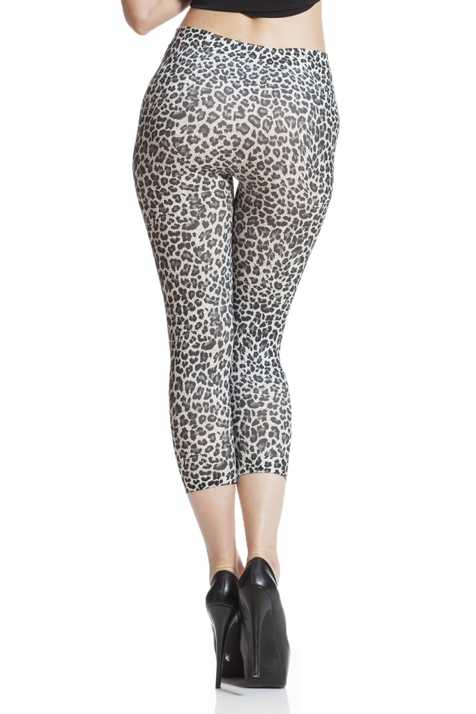 sommar leggings leopard