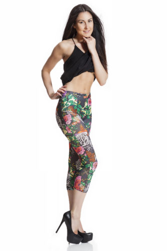Sommarleggings capri leggings fraktfritt online