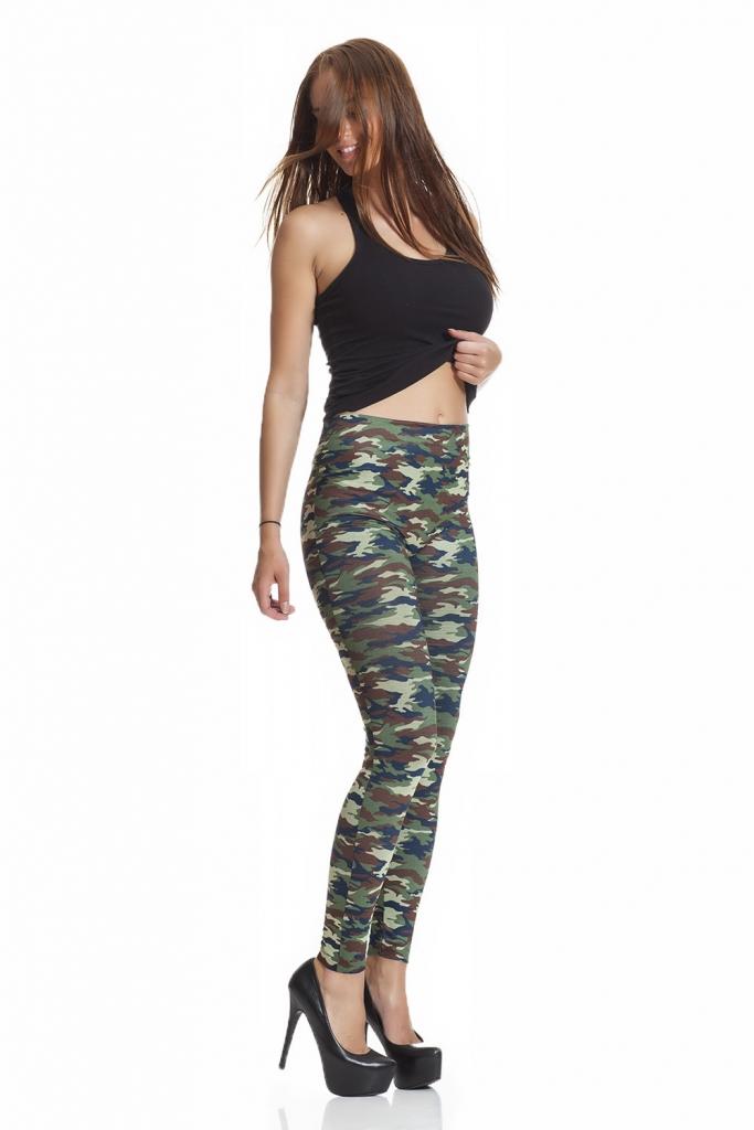 Army camouflage leggings online fraktfritt
