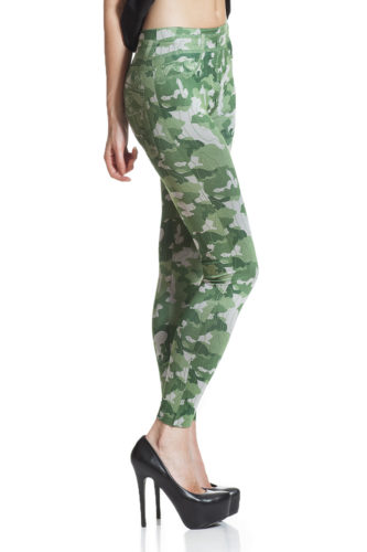 Army cammo leggings fri frakt online