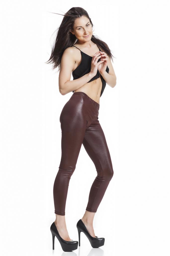 Leggings i läderimitation faux läder online fraktfritt