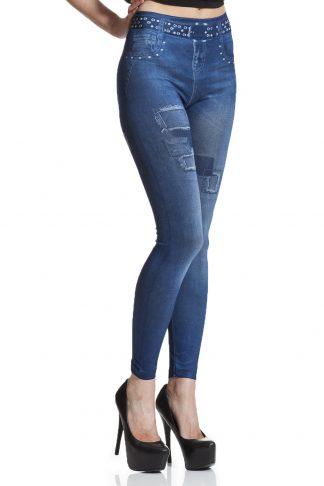 Jeansleggings jeggings online med fri frakt fraktfritt