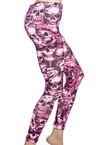 Tights och leggings med dödskallar och skelett