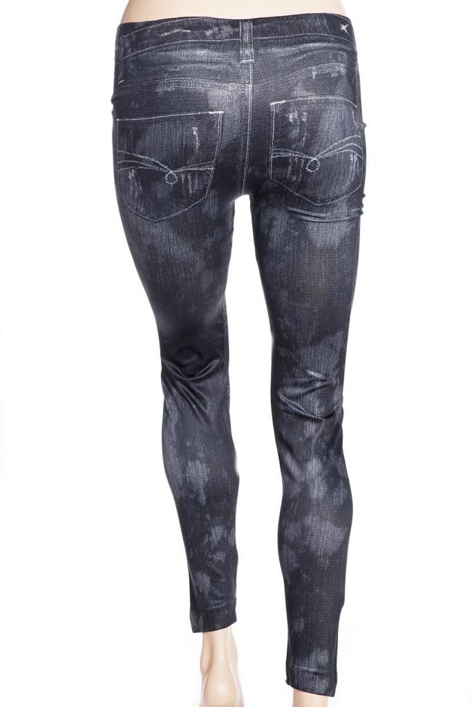 svarta grå mörka jeggings jeanstights
