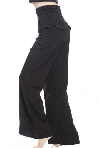 svarta byxor med hög midja online sverige