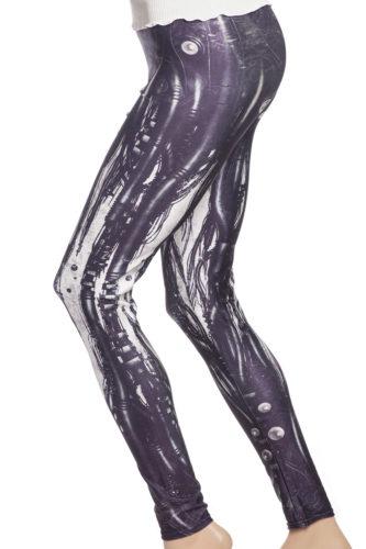 leggings tights med röntgen skelett online sverige