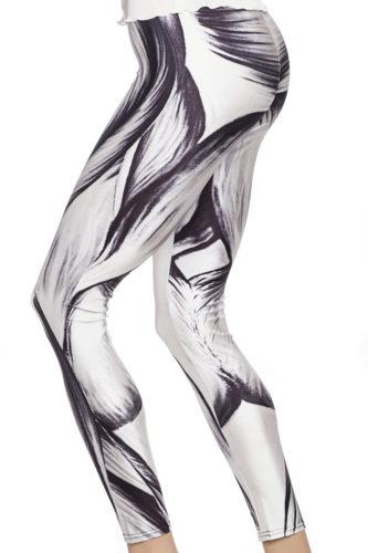 vita leggings tights med muskler webshop