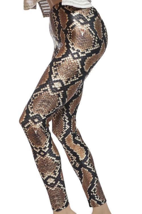 Tights och leggings online Sverige med motiv av ormskinn, python och boaorm
