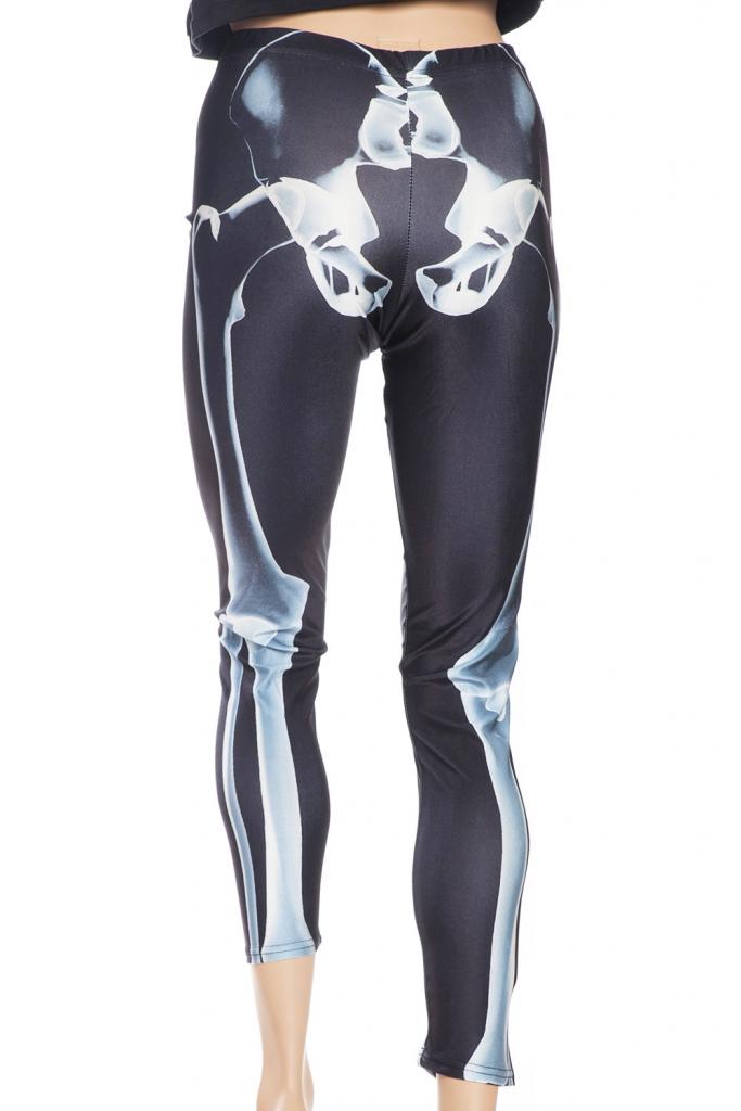 Tights och leggings online Sverige med skelett