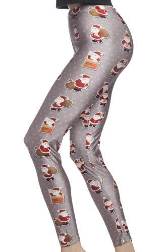 Leggings och tights för jul med tomtar online sverige