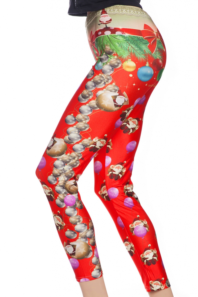 leggings och tights online sverige julafton röda