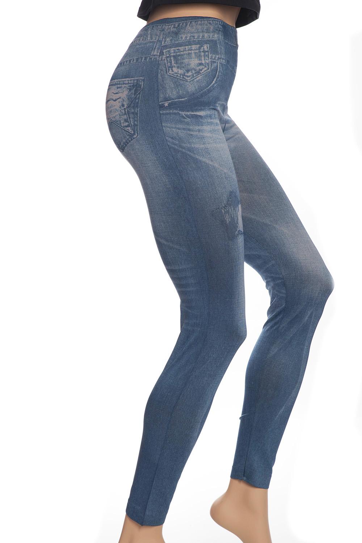 Star Pocket Jeans Leggings