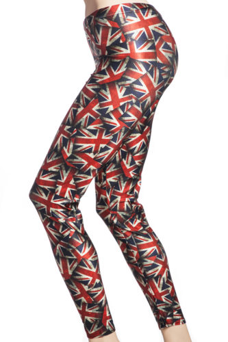 tights och leggings med Union Jack flaggan online sverige webshop