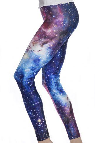 Leggings och tights med galaxy mönster av universum