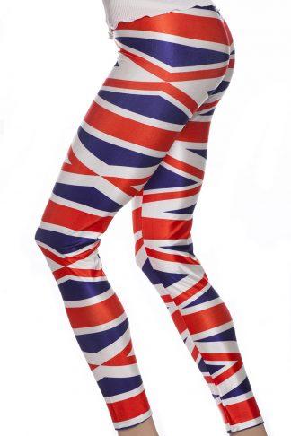 Leggings med Englands flagga