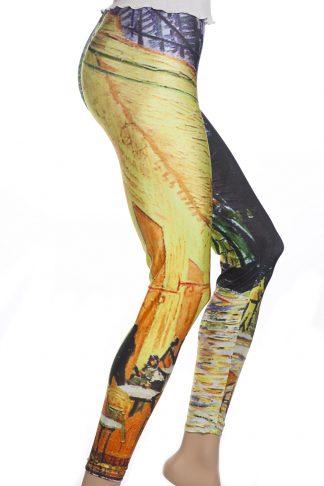 Leggings med målning av van Gogh